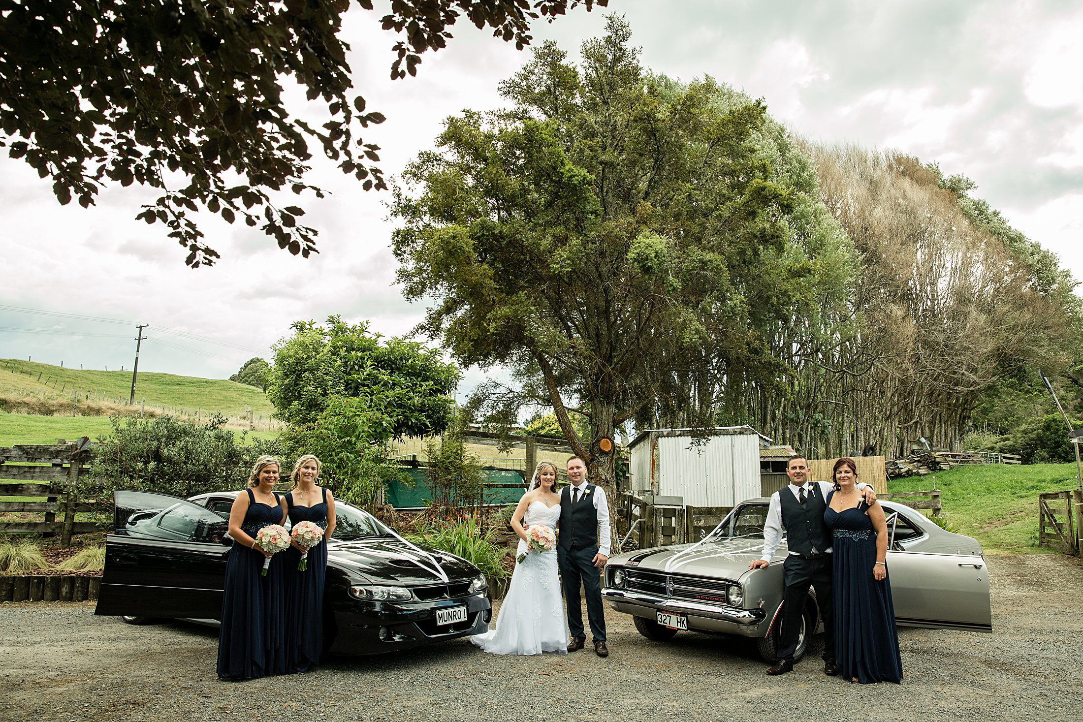 Rotorua Backyard Wedding Photographer