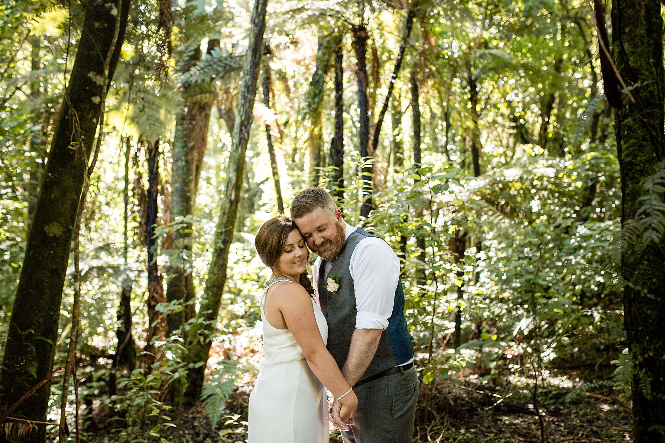 Lakes Lodge Lake Okataina Wedding Photographer