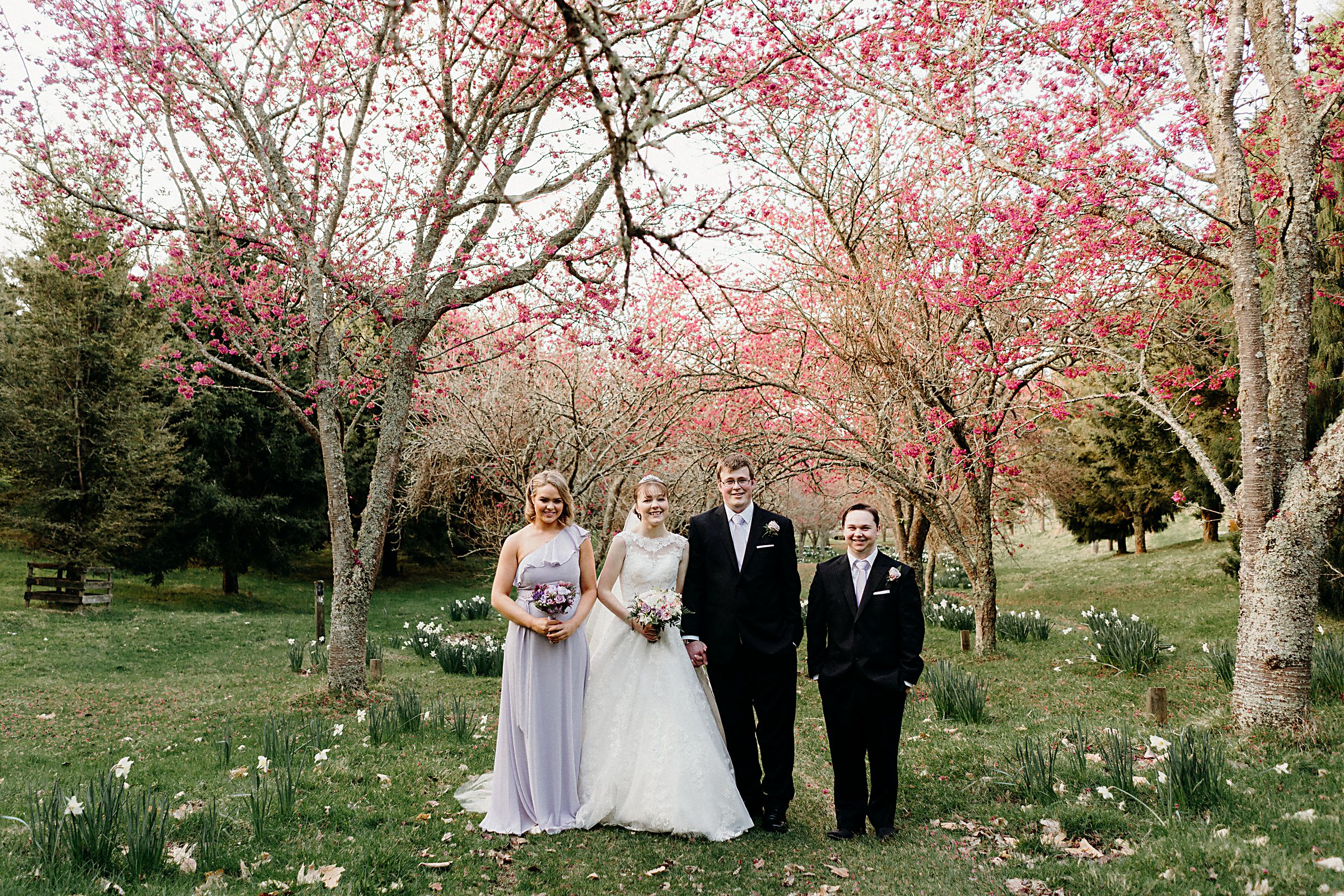 Elegant Pink and Purple Wedding