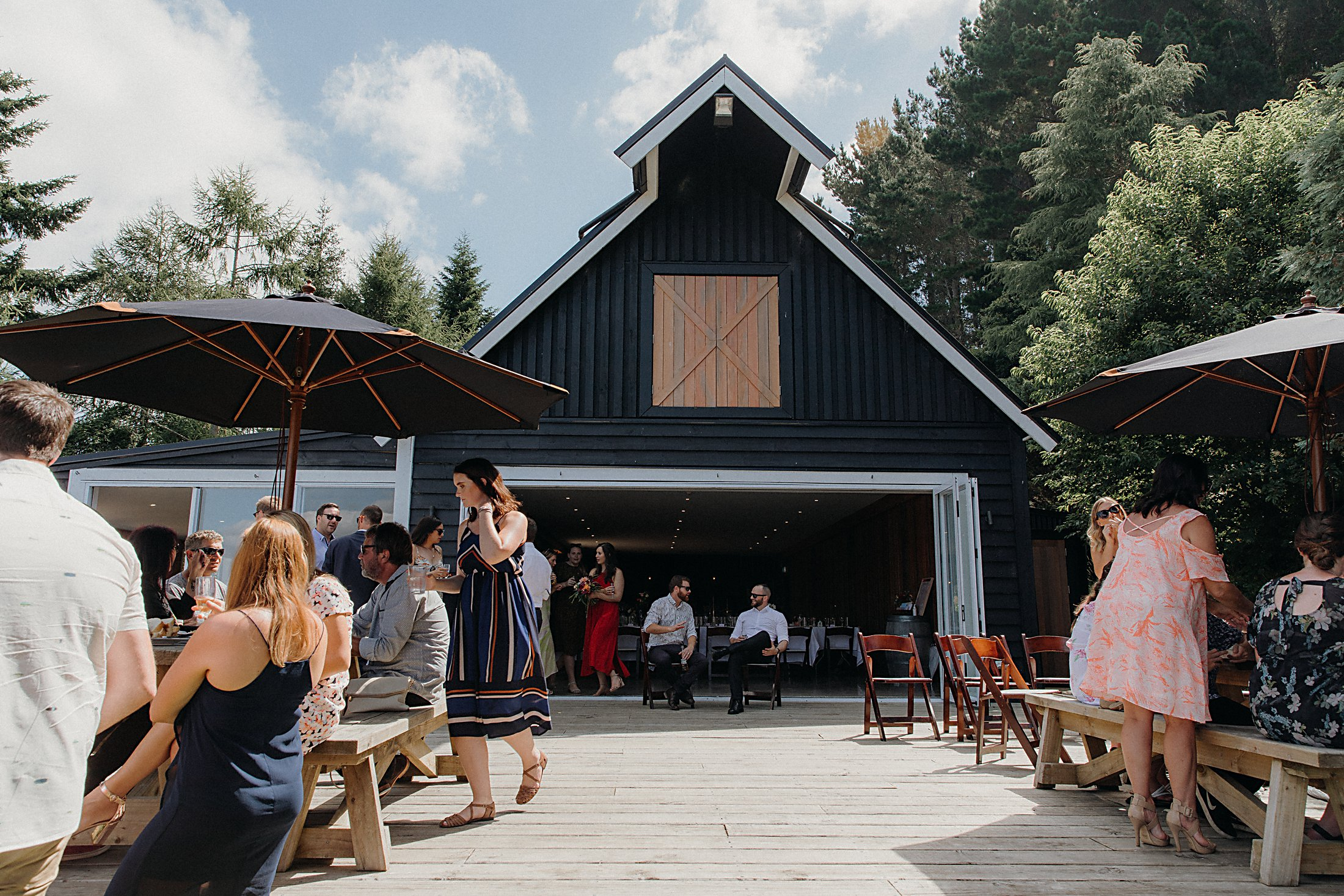 Black Barn Tuahiwi Lake Tarawera Wedding