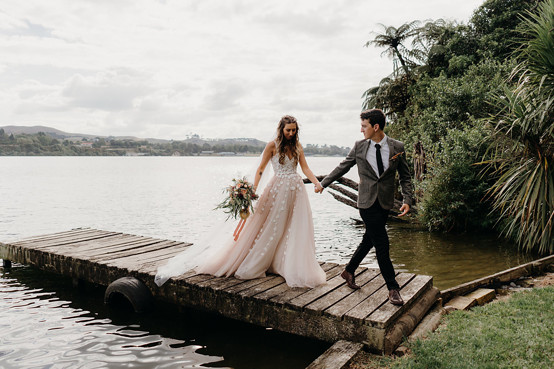 Lake Karapiro Wedding photos